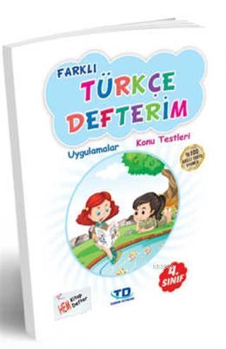 4. Sınıf Farklı Türkçe Defterim Uygulamalar - Konu Testleri