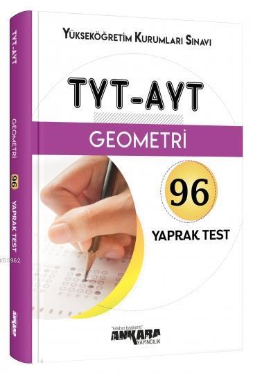 TYT-AYT Geometri 96 Yaprak Test Ankara Yayıncılık