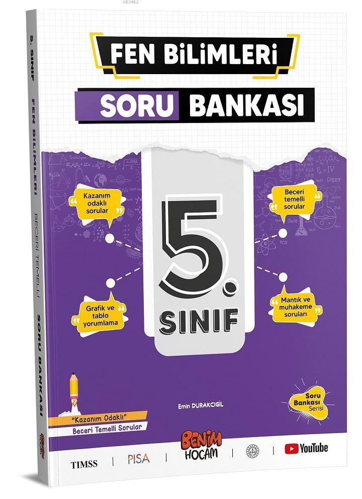 5.Sınıf Fen Bilimleri Soru Bankası Benim Hocam Yayınları