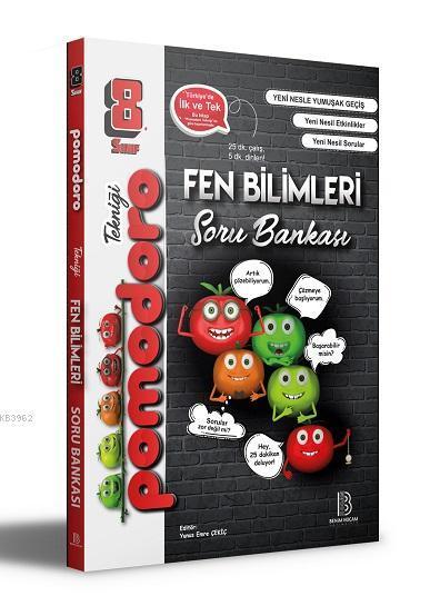 8.Sınıf Pomodoro Fen Bilimleri Soru Bankası Benim Hocam Yayınları