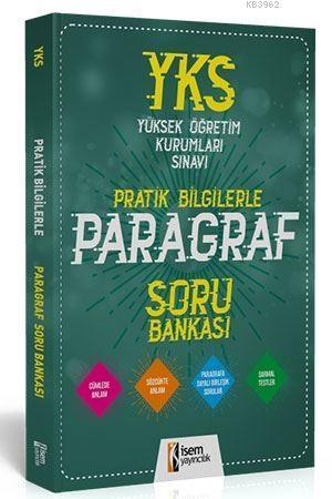 İsem Yayınları YKS Paragraf Pratik Bilgilerle Soru Bankası İsem