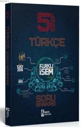 İsem 2021 5 Sınıf Farklı İsem Türkçe Soru Bankası İsem Yayıncılık