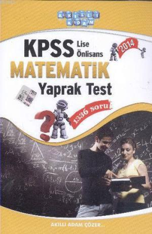 KPSS Lise Önlisans Matematik Yaprak Test