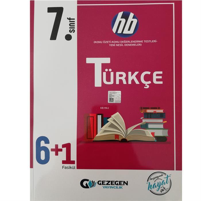 7. Sınıf Türkçe 6+1 Fasikül HB
