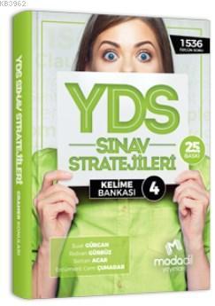 Modadil YDS Sınav Stratejileri 4 - Kelime Bankası