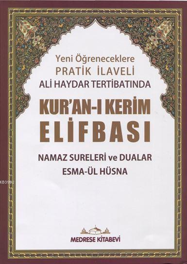 Pratik Tecvid İlaveli Ali Haydar Kur'an-ı Kerim Elifbası; (Rahle Boy)