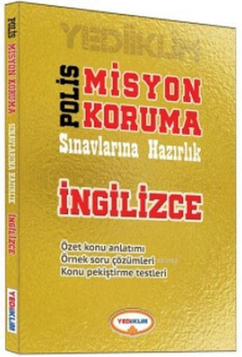 Polis Misyon Koruma Sınavlarına Hazırlık İngilizce Kitabı