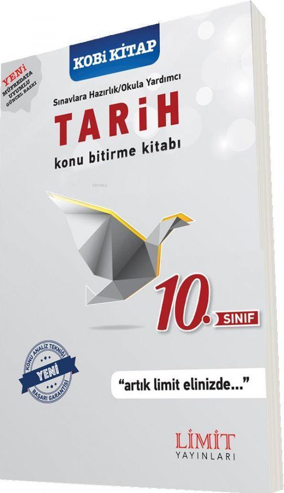 Limit Yayınları 10. Sınıf Tarih Konu Bitirme Kitabı Limit