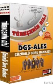 2018 DGS ALES Türkçenin Dili Çözümlü Soru Bankası