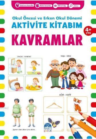 Aktivite Kitabım -Kavramlar ( 4+ Yaş )