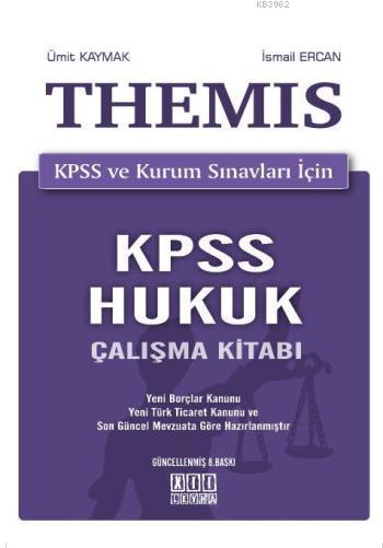 THEMIS KPSS Hukuk Çalışma Kitabı KPSS ve Kurum Sınavları İçin