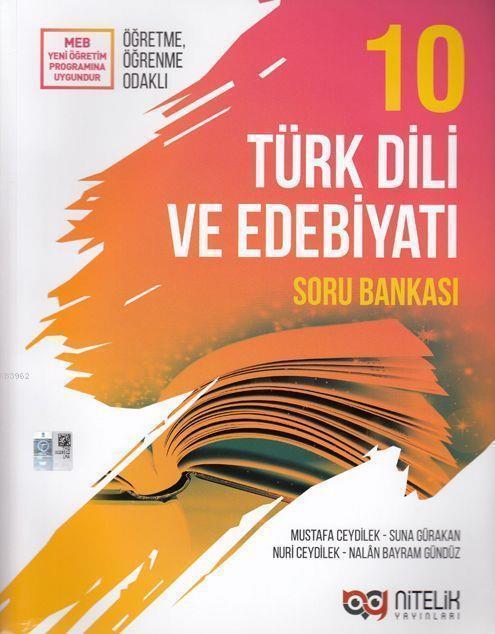 Nitelik Yayınları 10. Sınıf Türk Dili ve Edebiyatı Soru Bankası Nitelik