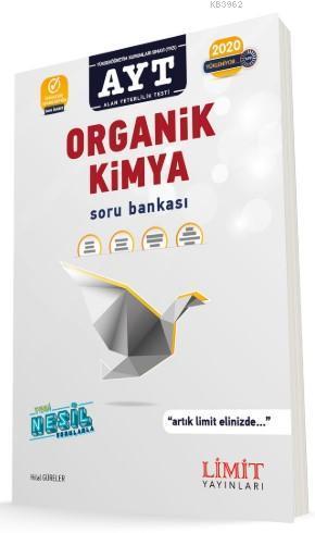Limit Yayınları AYT Organik Kimya Soru Bankası Limit