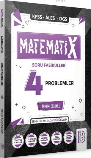 2021 KPSS ALES DGS MatematiX Soru Fasikülleri 4 Problemler
