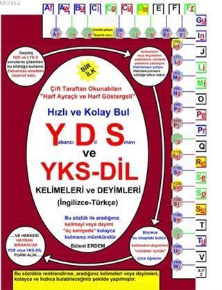 YDS ve YKS-Dil  Kelimeleri ve Deyimleri (İngilizce-Türkçe)