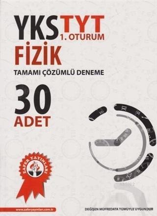 Zafer Yayınları TYT Fizik 30 Adet Tamamı Çözümlü Deneme Zafer