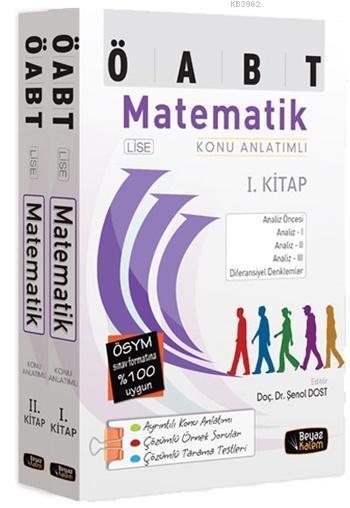 ÖABT Lise Matematik Öğretmenliği Konu Anlatımlı 2015 (Set 2 Kitap)