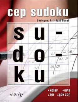 Cep Sudoku; (Kolay, Orta, Zor, Çok Zor)