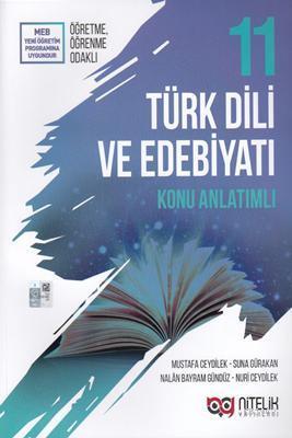 Nitelik Yayınları 11. Sınıf Türk Dili ve Edebiyatı Konu Anlatımlı Nitelik