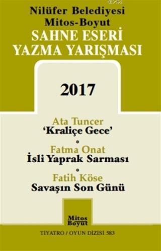 Sahne Eseri Yazma Yarışması 2017