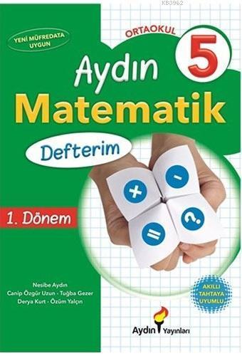 Aydın 5.Sınıf Matematik Defterim