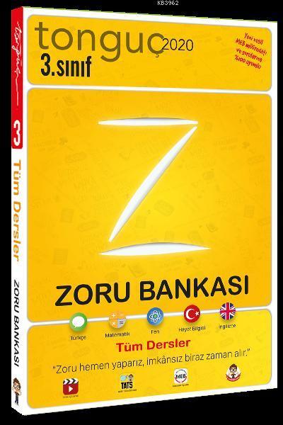 Tonguç Yayınları 3. Sınıf Tüm Dersler Zoru Bankası Tonguç