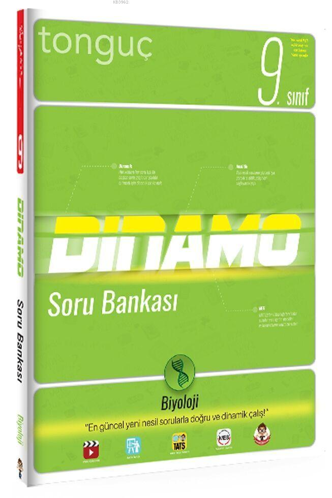 Tonguç 9.Sınıf Biyoloji Dinamo Soru Bankası