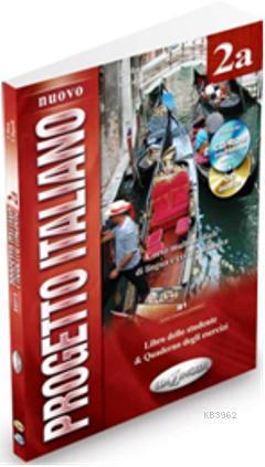 Nuovo Progetto Italiano 2a (Ders Kitabı ve Çalışma Kitabı +CD +CD ROM) İtalyanca Orta Seviye