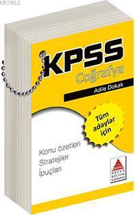 KPSS Coğrafya Strateji Kartları