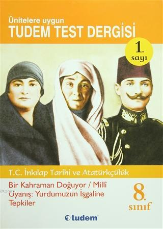 8. Sınıf T.C. İnkilap Tarihi ve Atatürkçülük Test Dergisi (8'li Set)