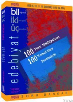 Bil İki Üç Edebiyat Soru Bankası; Lise 9. 10. 11. 12. Sınıflar İçin