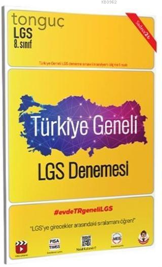 Tonguç Türkiye Geneli LGS Denemesi 10'lu Paket