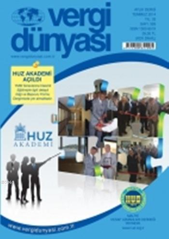 Vergi Dünyası Dergisi Temmuz 2014
