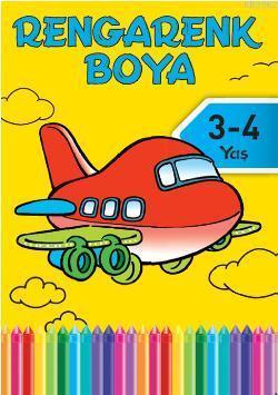 Rengarenk Boya 1 (3-4 Yaş)