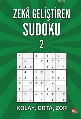 Zeka Geliştiren Sudoku 2; Kolay - Orta - Zor