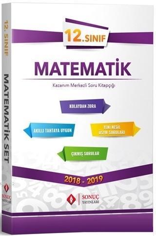 12. Sınıf Matematik Kazanım Merkezli Soru Bankası Seti
