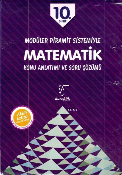 Modüler Pramit Sistemi 10. Sınıf Matematik (Set)