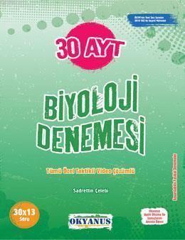 AYT 30 Biyoloji Denemesi