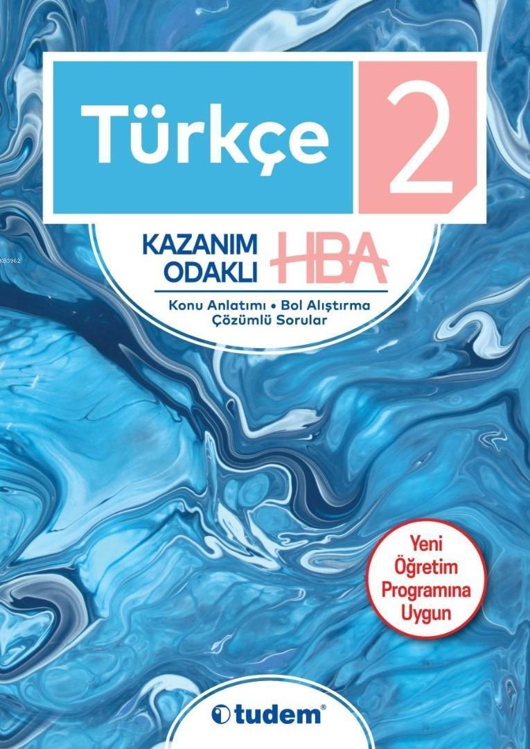 Tudem Yayınları 2. Sınıf Türkçe Kazanım Odaklı HBA Tudem