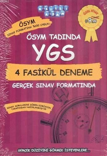 ÖSYM Tadında YGS 4 Fasikül Deneme Gerçek Sınav Formatında