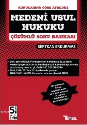 Medeni Usul Hukuku Çözümlü Soru Bankası