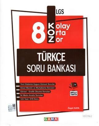 8.Sınıf LGS Koz Türkçe Soru Bankası