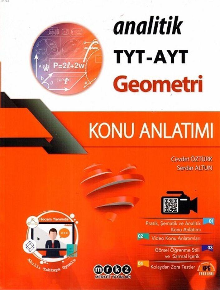 Merkez Yayınları TYT AYT Geometri Analitik Konu Anlatımı Merkez