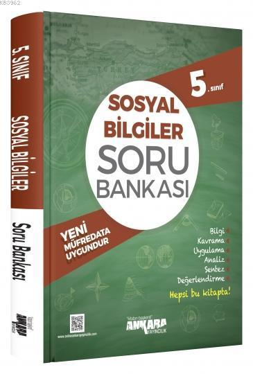 Ankara Yayınları 5. Sınıf Sosyal Bilgiler Soru Bankası Ankara