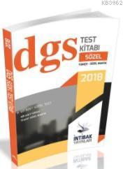 2018 DGS Sözel Yaprak Test Takımı