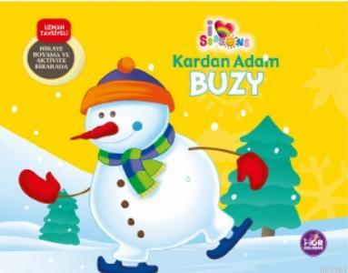Kardan Adam Buzy; Hikaye Boyama ve Aktivite Bir Arada