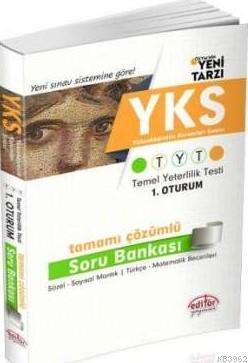 YKS TYT 1. Oturum Tamamı Çözümlü Soru Bankası