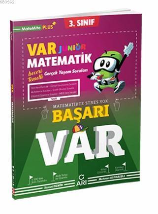 Arı Yayınları 3. Sınıf Matematik Junior VAR Soru Bankası Arı