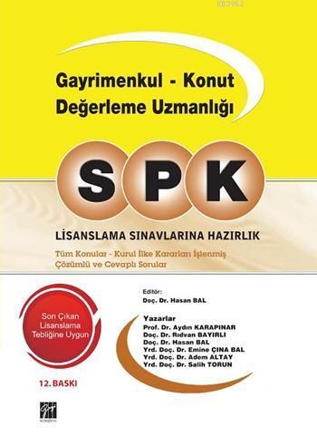 SPK Gayrimenkul Konut Değerleme Uzmanlığı