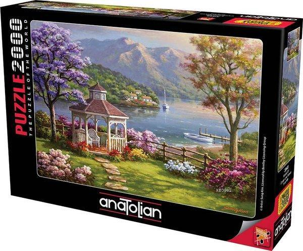 Anatolian-Puzzle 2000 Kristal Göl Crystal Lake Retreat